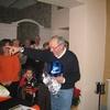 Cena a Fontebussi 15-12-07 Cena a Fontebussi 15-12-07 Minatti Franco con i regali